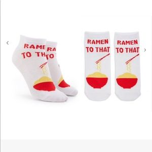 💓3/$15💓RAMEN TO THAT Ankle Socks